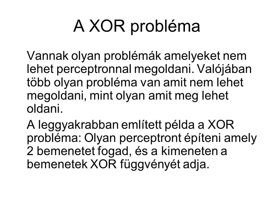 A XOR probléma