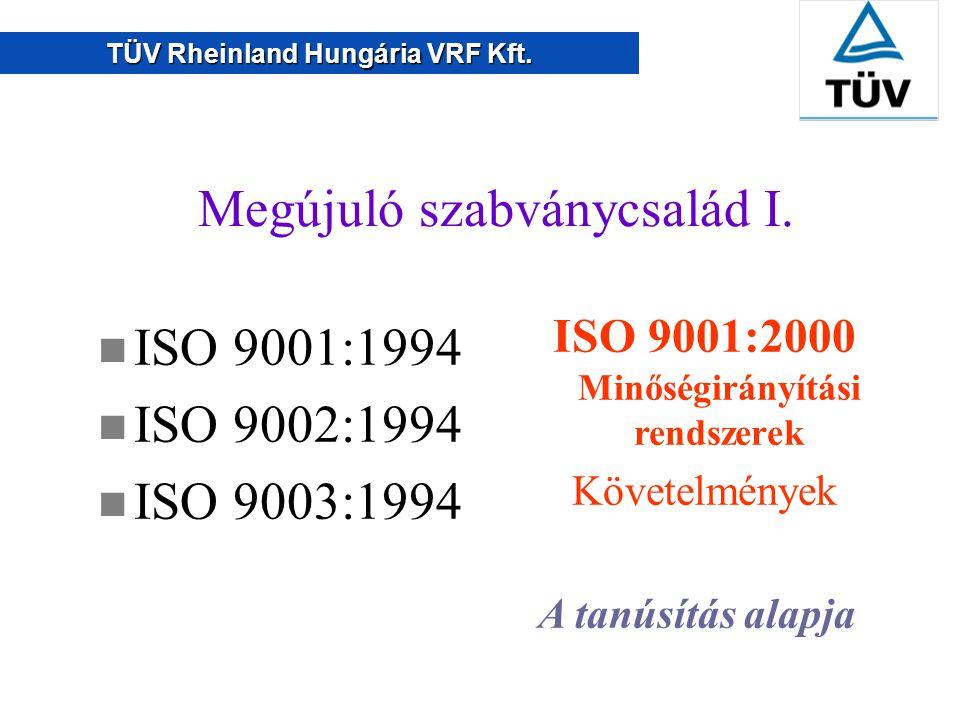 ISO 9001:2000 Minőségirányítási rendszerek