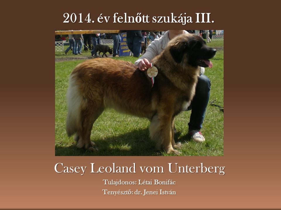 Casey Leoland vom Unterberg