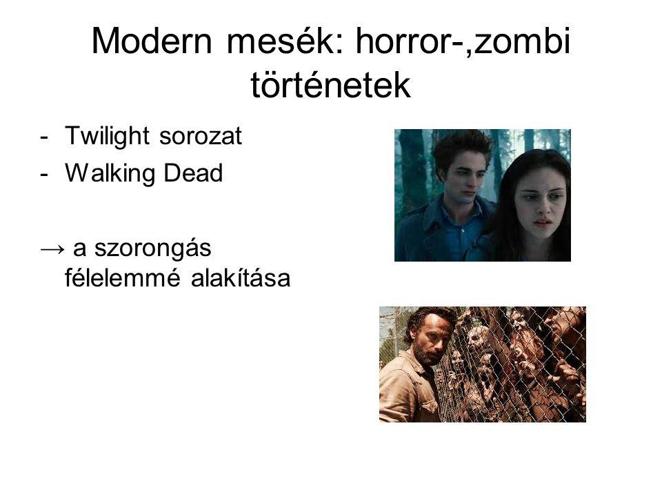Modern mesék: horror-,zombi történetek