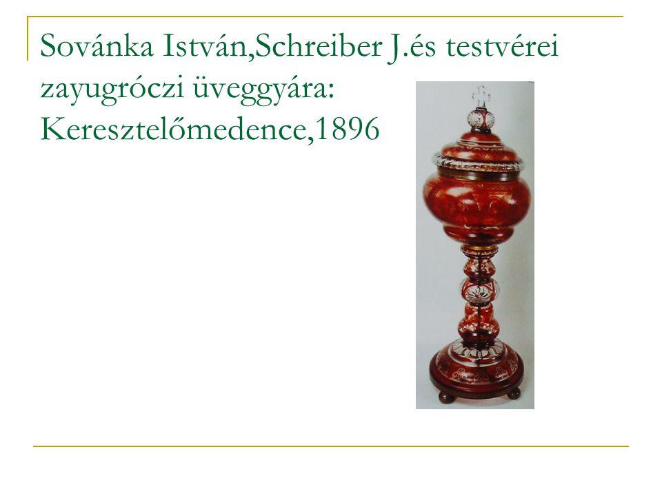 Sovánka István,Schreiber J