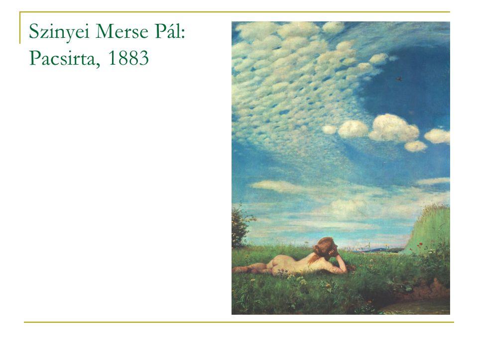 Szinyei Merse Pál: Pacsirta, 1883