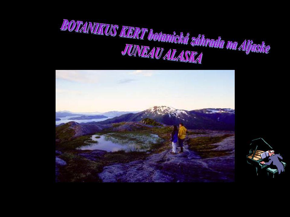 BOTANIKUS KERT botanická záhrada na Aljaske