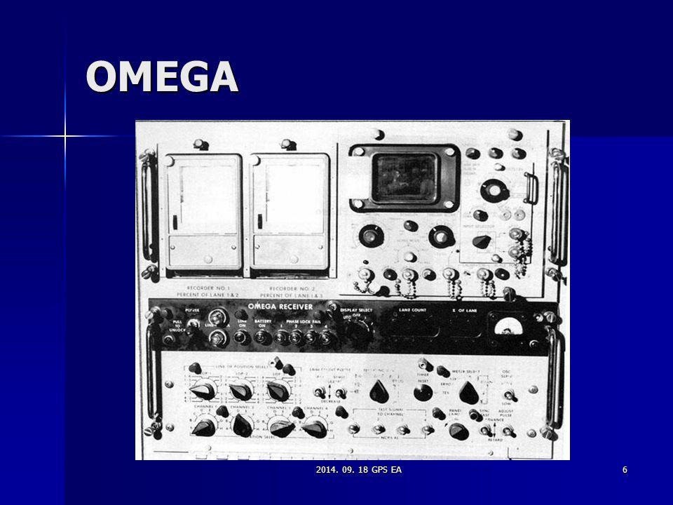 OMEGA 2014. 09. 18 GPS EA