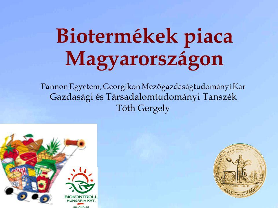 Biotermékek piaca Magyarországon