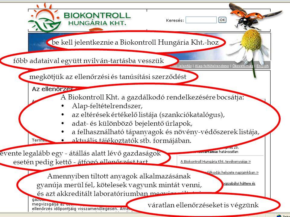 """""""Átverés! be kell jelentkeznie a Biokontroll Hungária Kht.-hoz"""