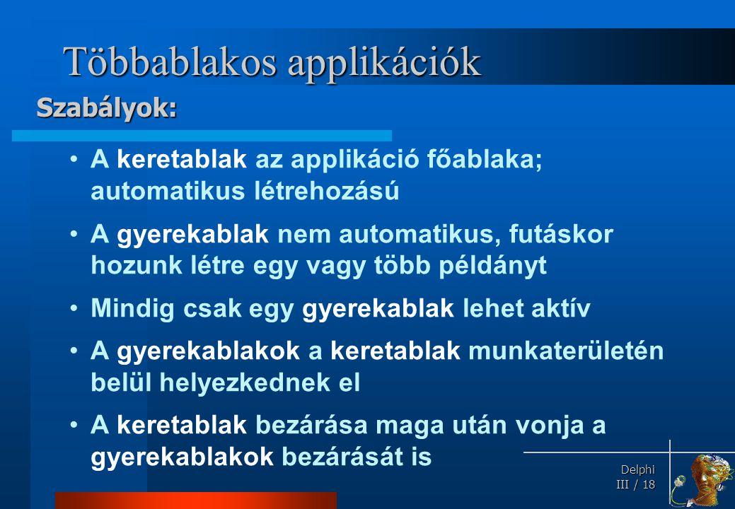 Többablakos applikációk
