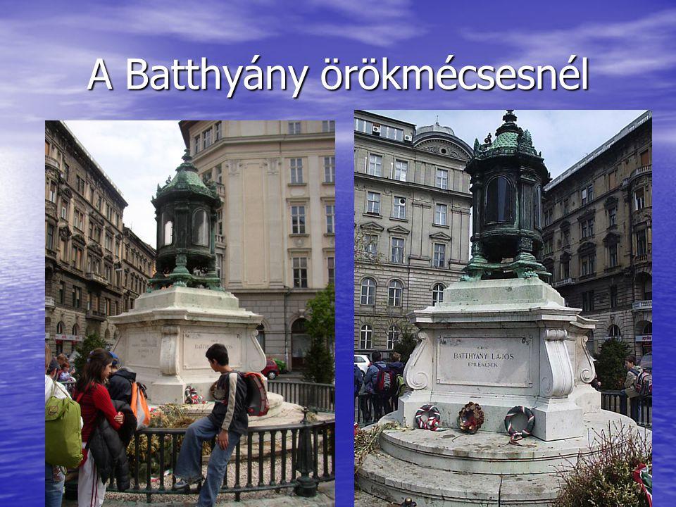 A Batthyány örökmécsesnél