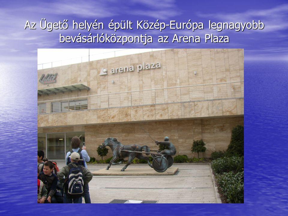 Az Ügető helyén épült Közép-Európa legnagyobb bevásárlóközpontja az Arena Plaza