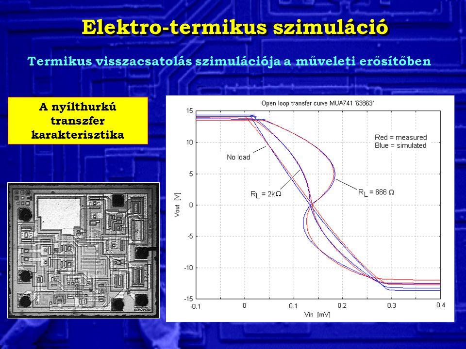 Elektro-termikus szimuláció