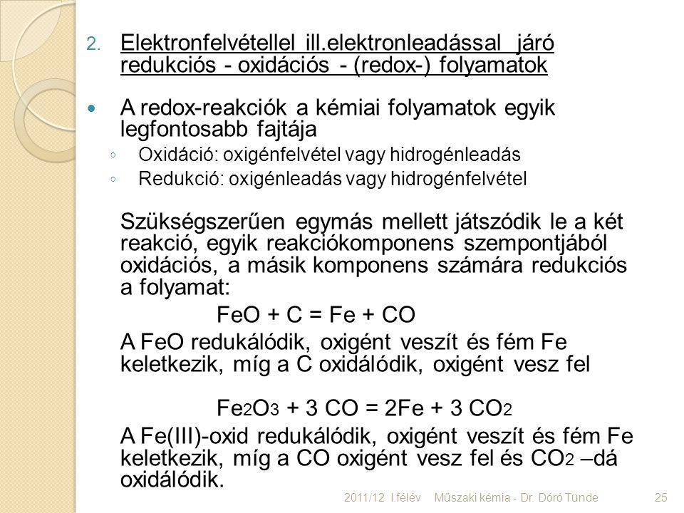 A redox-reakciók a kémiai folyamatok egyik legfontosabb fajtája