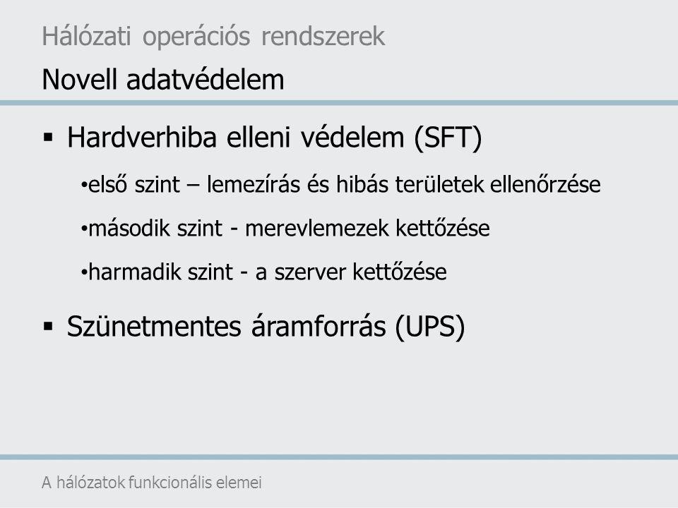 Hardverhiba elleni védelem (SFT)