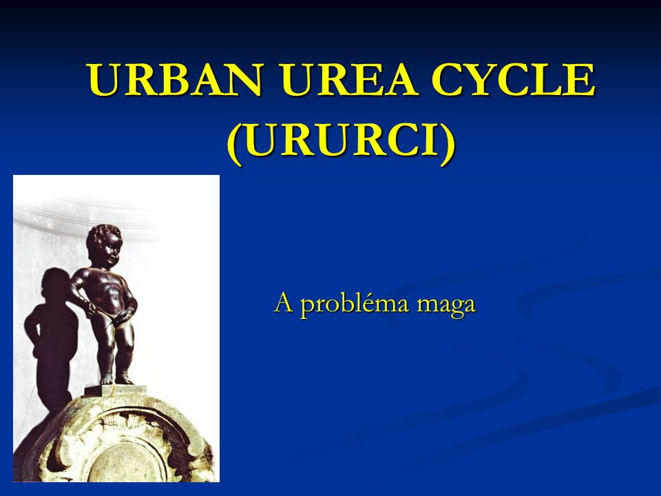 URBAN UREA CYCLE (URURCI)