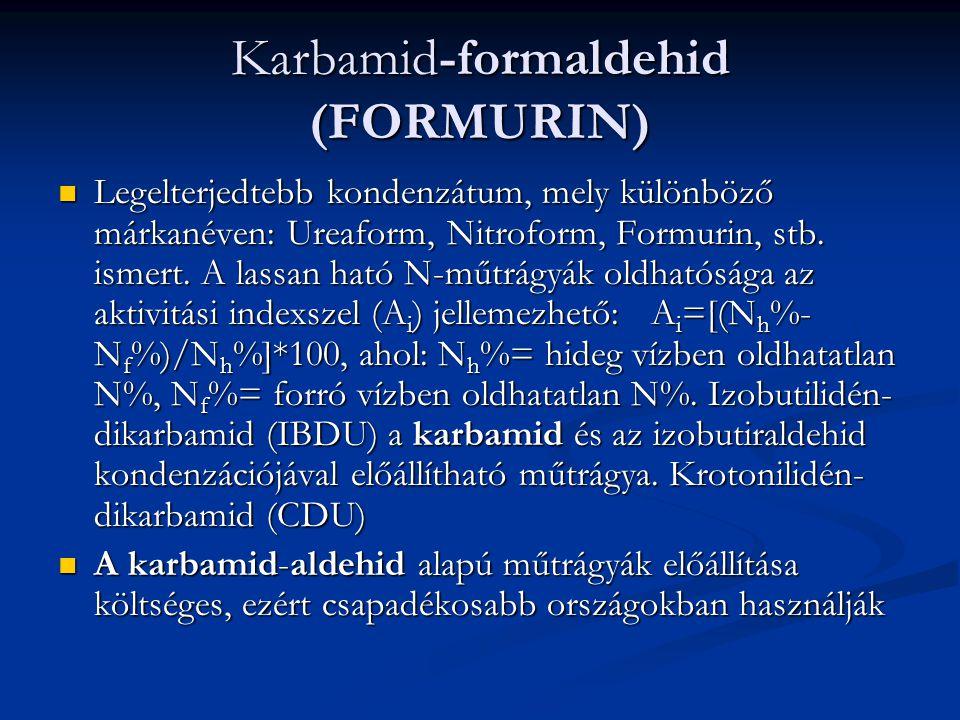 Karbamid-formaldehid (FORMURIN)