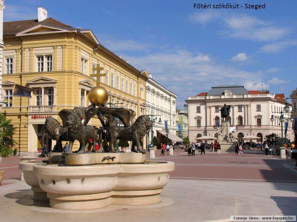 Főtéri szökőkút - Szeged