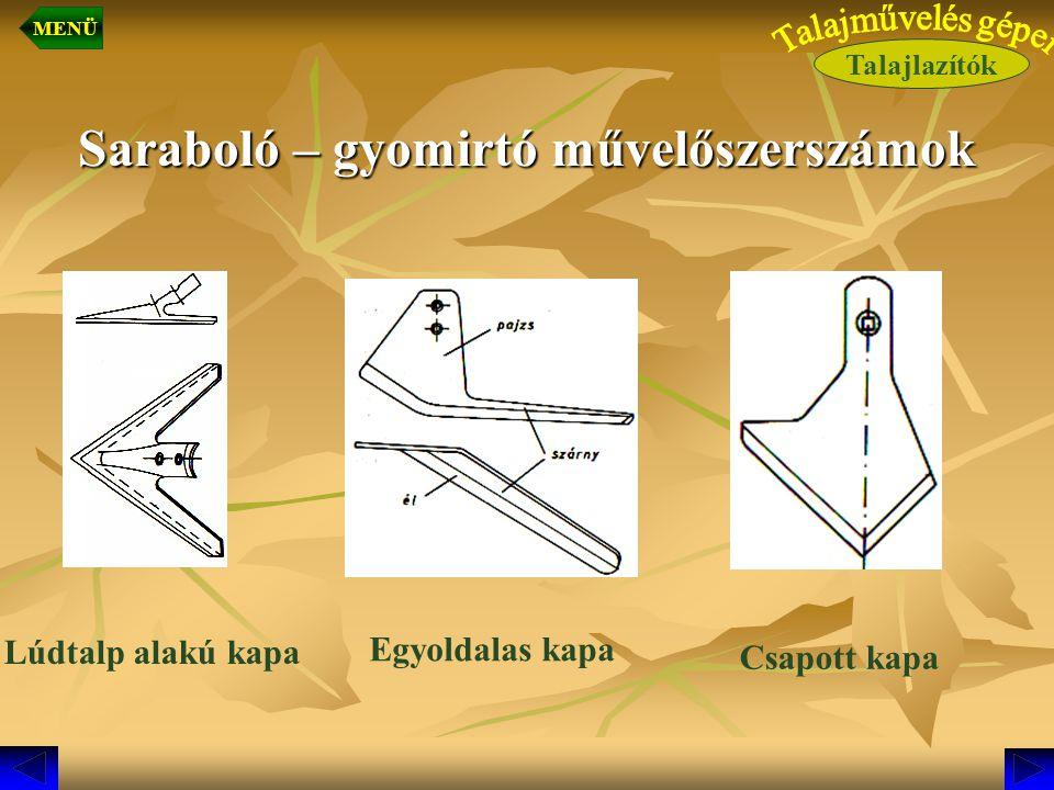 Saraboló – gyomirtó művelőszerszámok