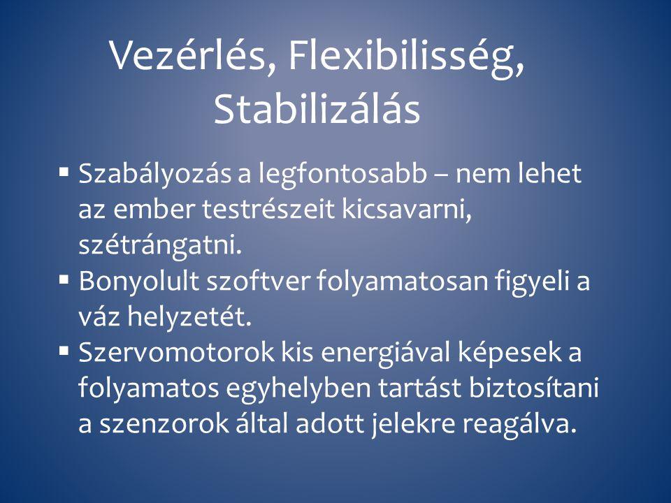 Vezérlés, Flexibilisség, Stabilizálás