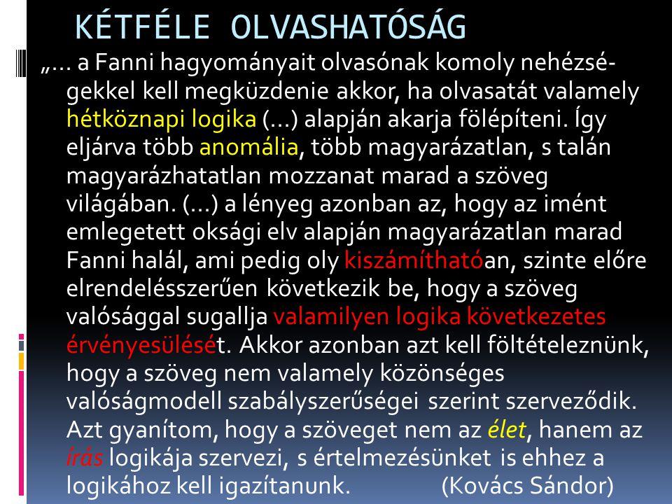 KÉTFÉLE OLVASHATÓSÁG