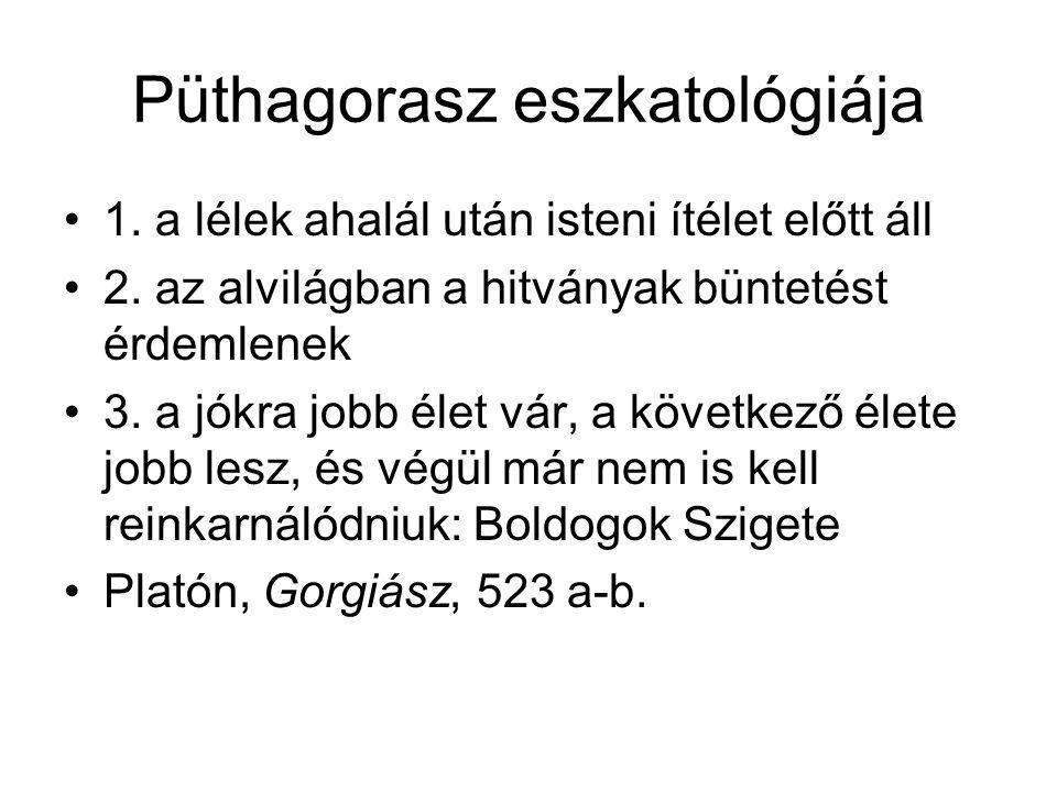 Püthagorasz eszkatológiája