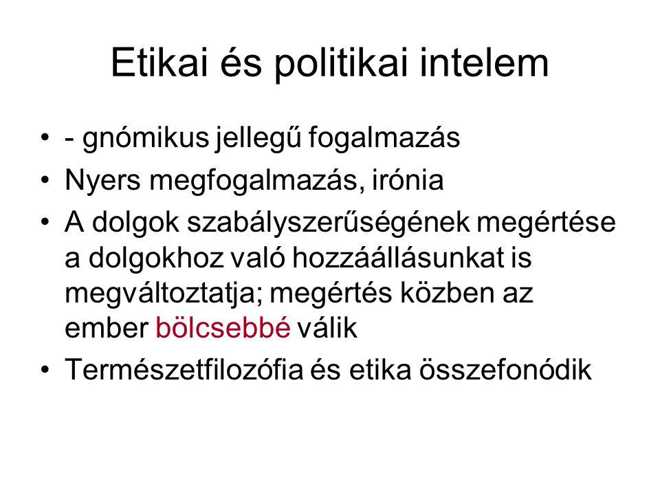Etikai és politikai intelem