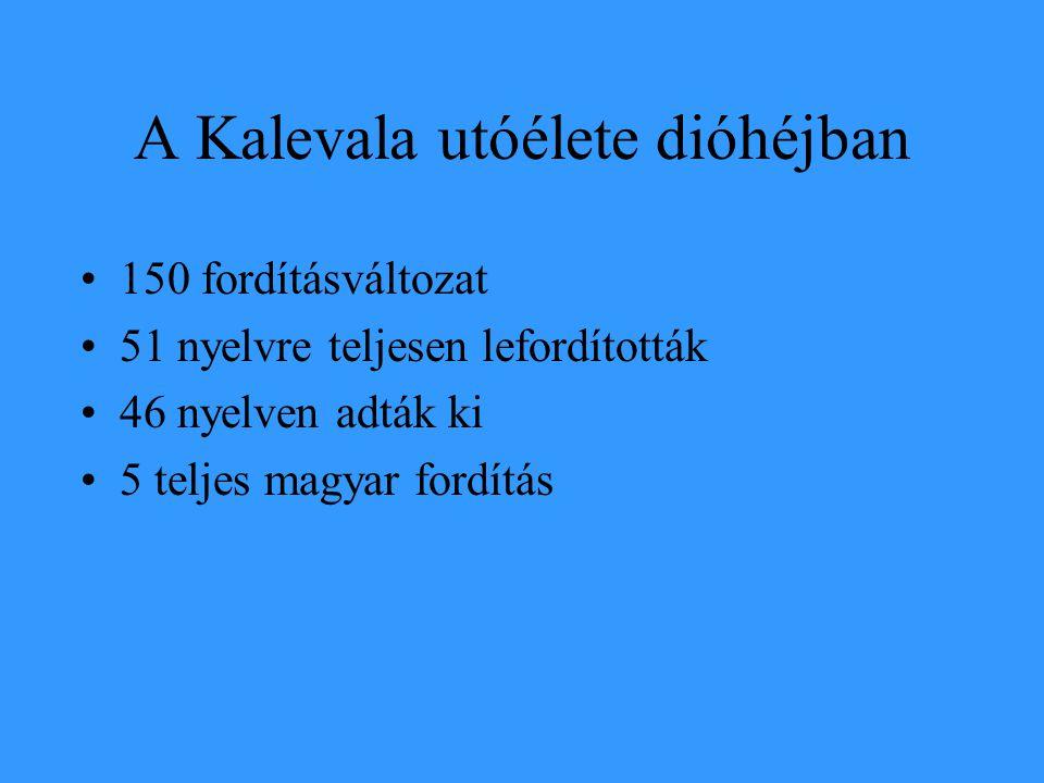 A Kalevala utóélete dióhéjban