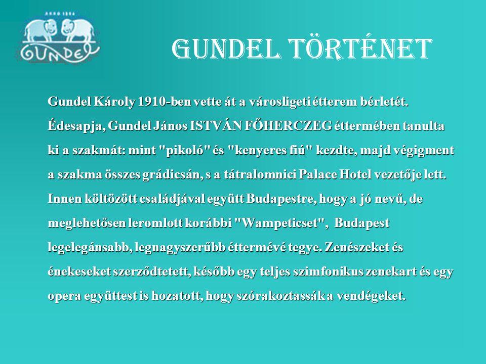 Gundel történet