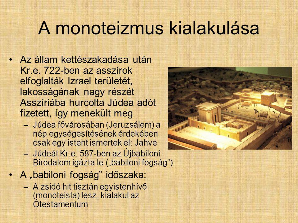 A monoteizmus kialakulása