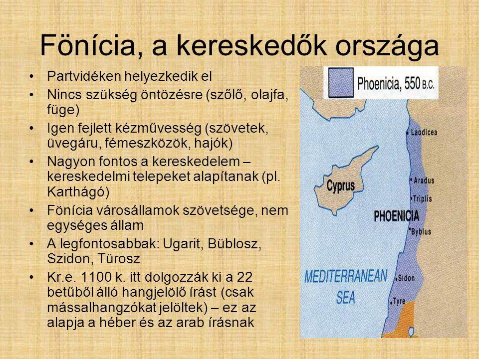 Fönícia, a kereskedők országa