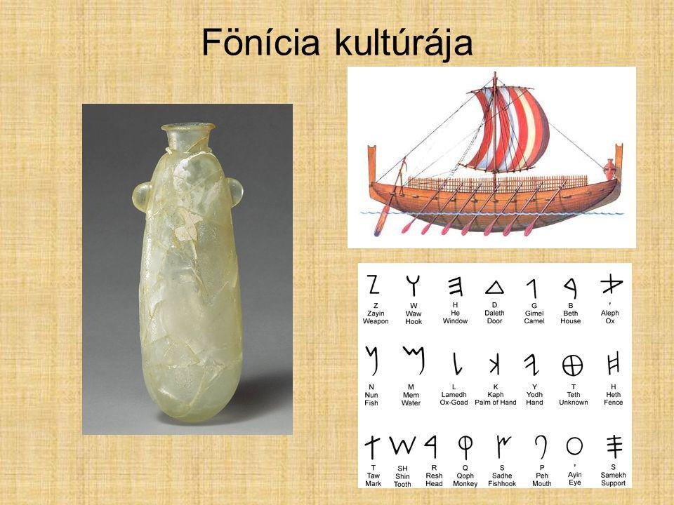 Fönícia kultúrája