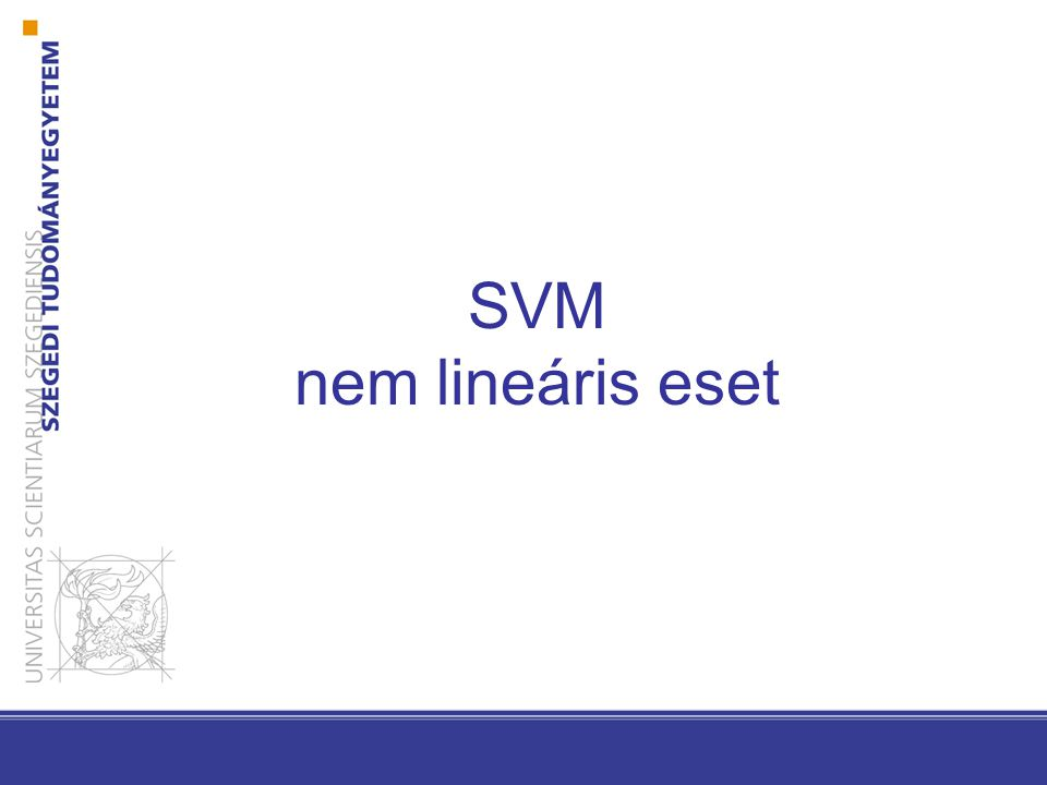 Általánosított lineáris diszkriminancia függvények
