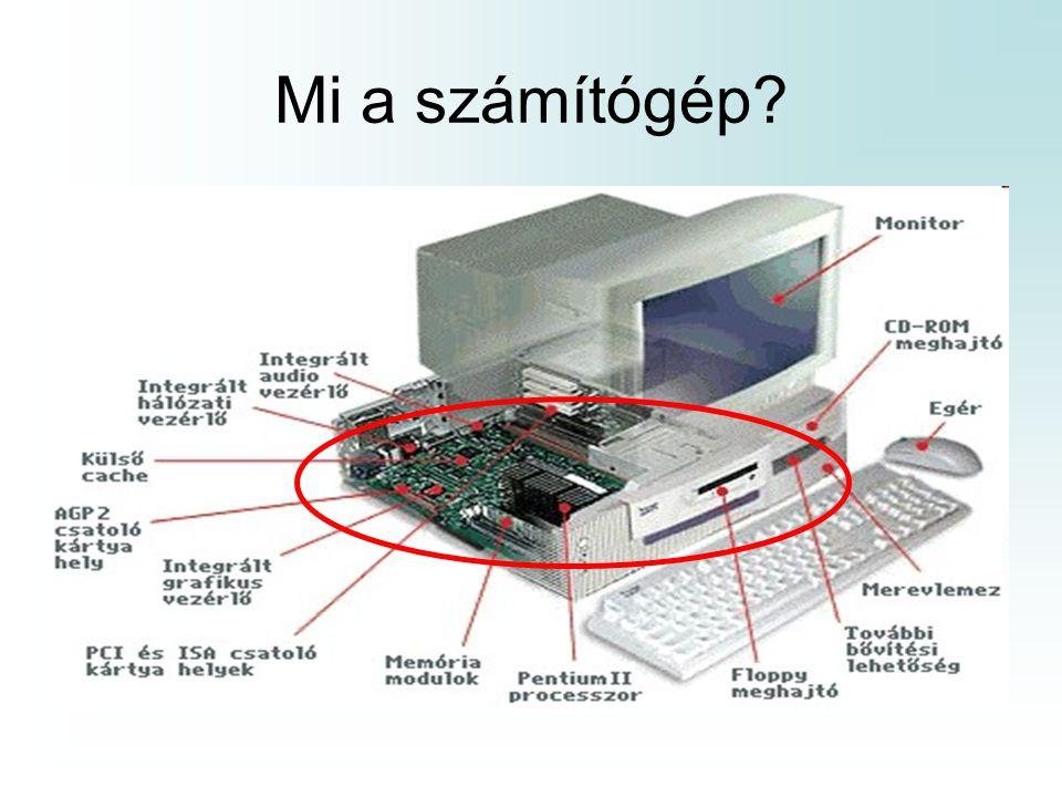 Mi a számítógép