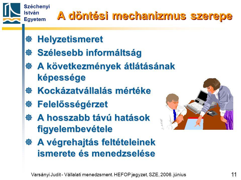A 2. oktatási hét témakörei