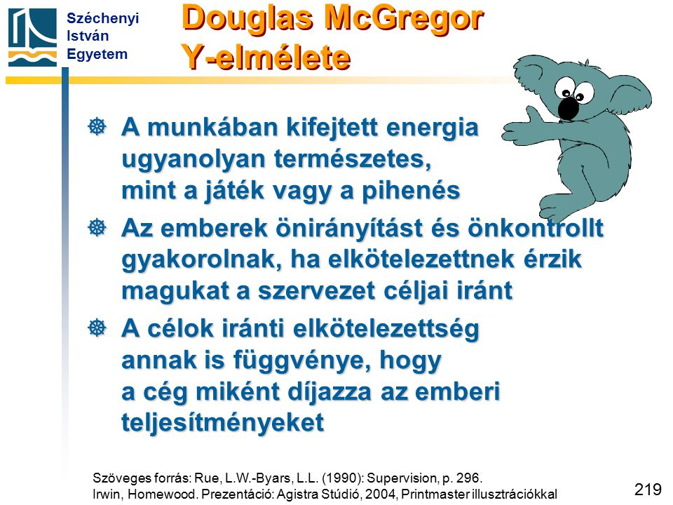 Douglas McGregor Y-elmélete