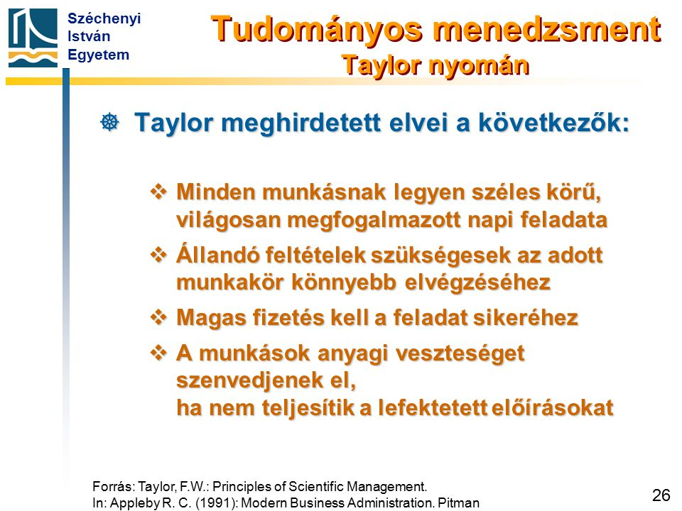 A tudományos közelítés lépései Taylor nyomán