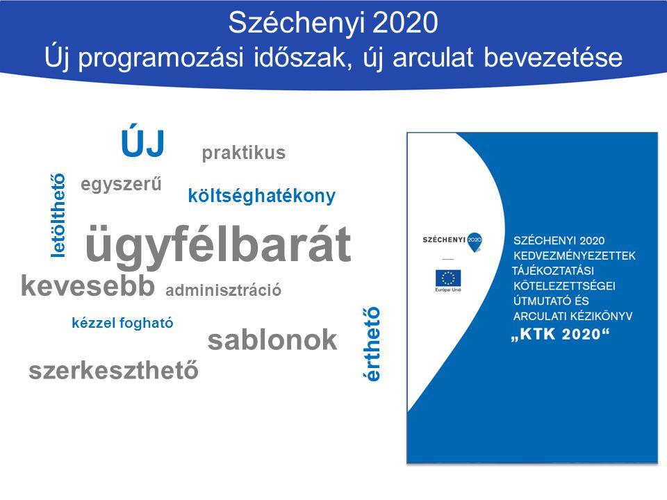 Széchenyi 2020 Új programozási időszak, új arculat bevezetése