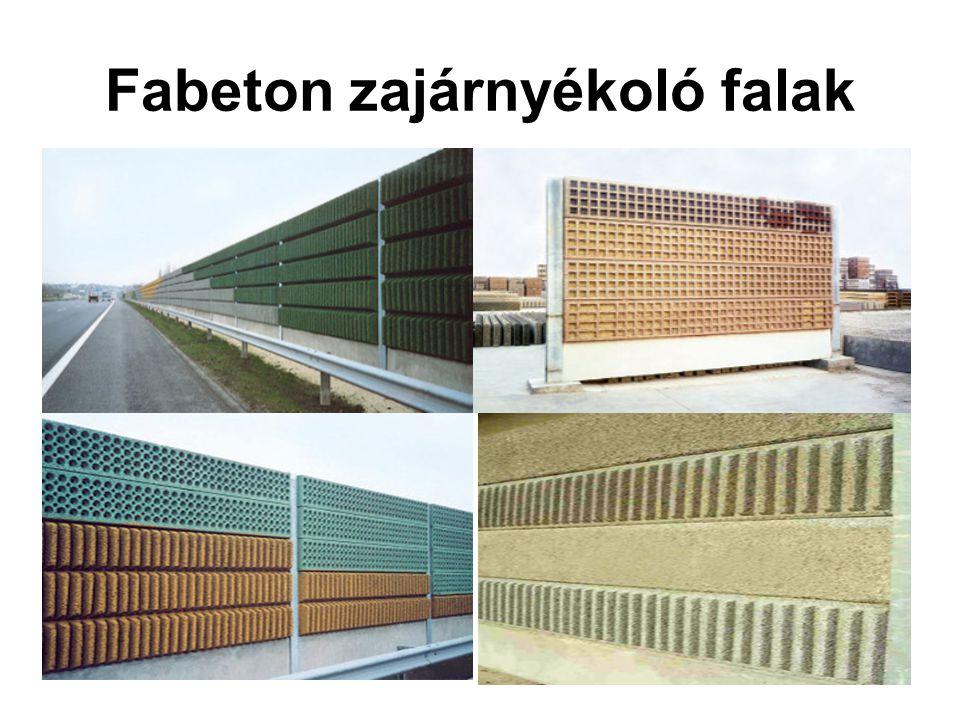 Fabeton zajárnyékoló falak