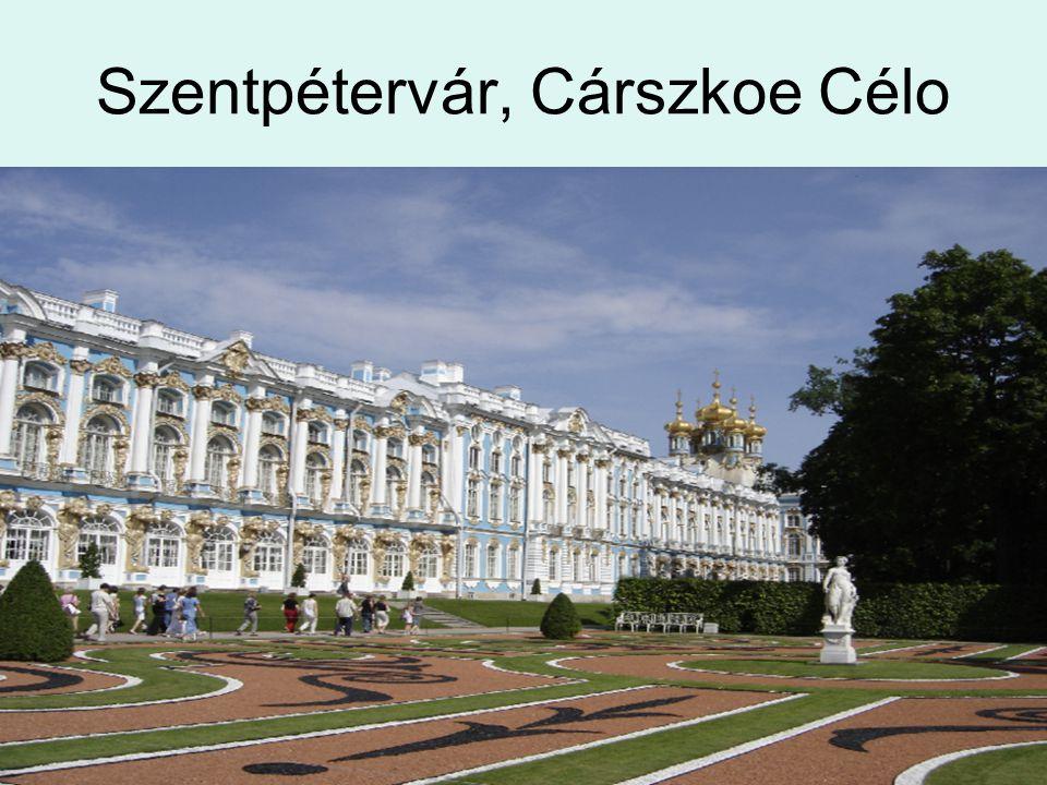 Szentpétervár, Cárszkoe Célo