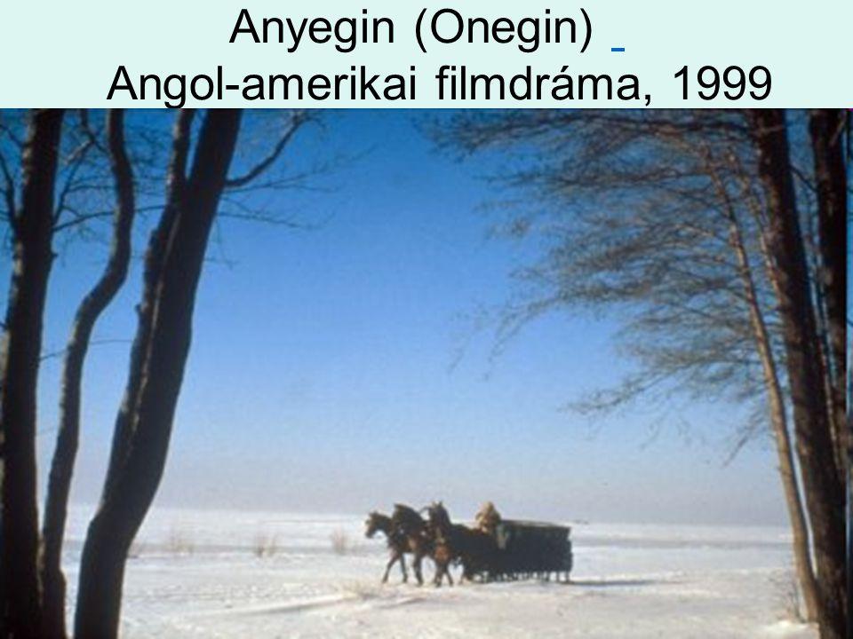 Anyegin (Onegin) Angol-amerikai filmdráma, 1999