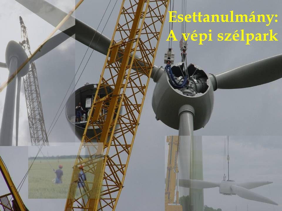 Esettanulmány: A vépi szélpark
