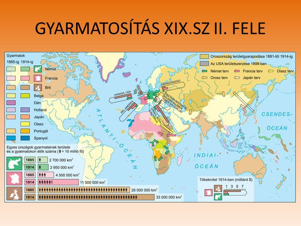 GYARMATOSÍTÁS XIX.SZ II. FELE