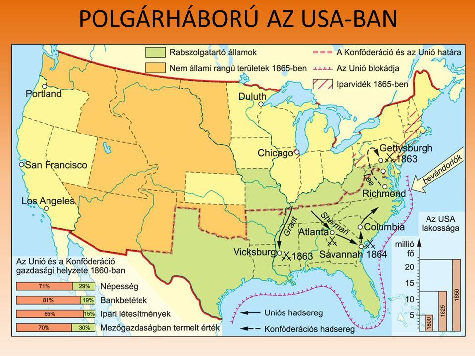 POLGÁRHÁBORÚ AZ USA-BAN