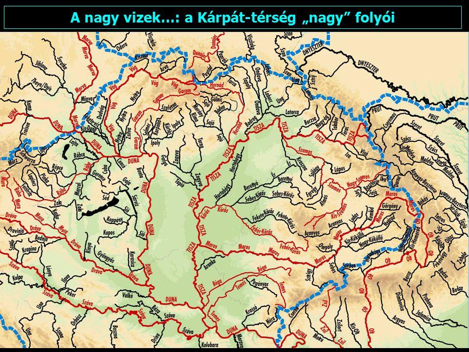 """A nagy vizek…: a Kárpát-térség """"nagy folyói"""