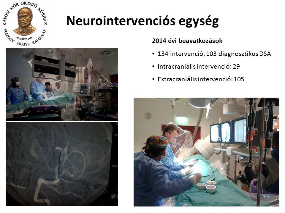 Neurointervenciós egység