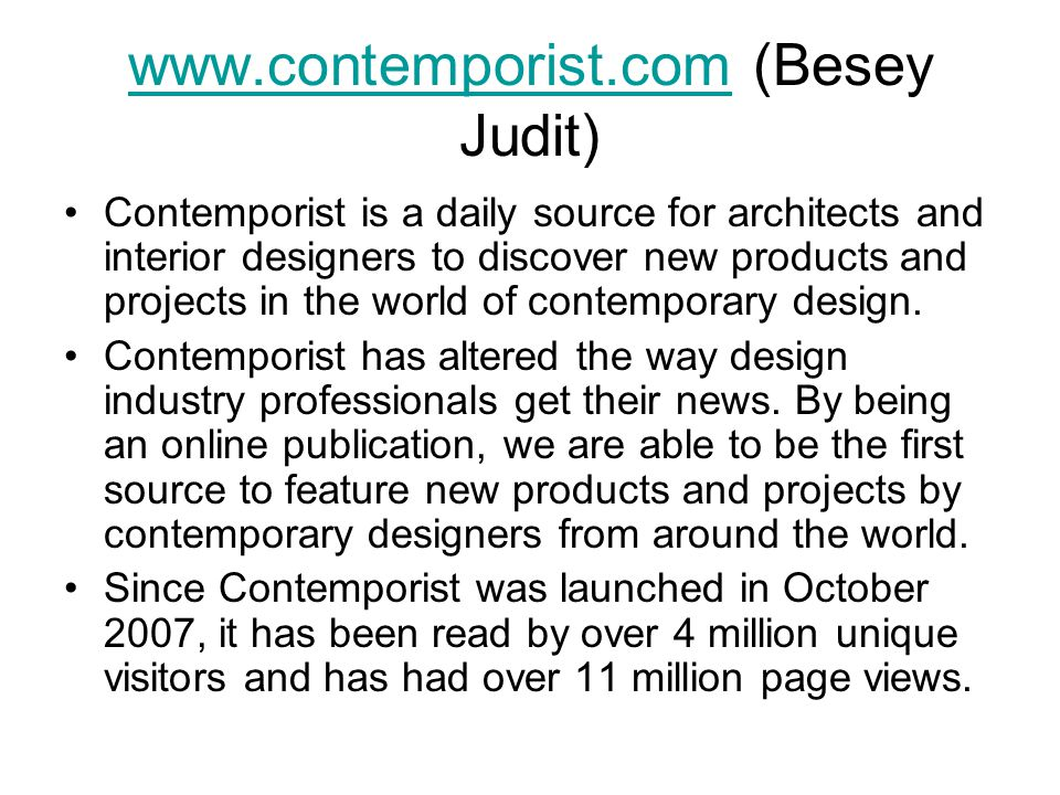 www.contemporist.com (Besey Judit)