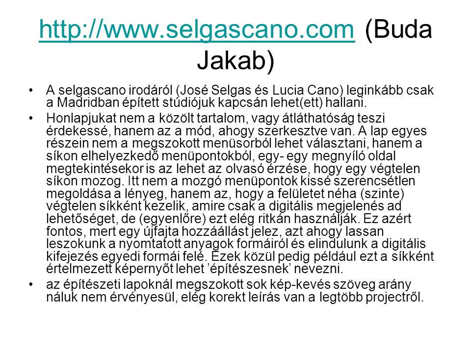 http://www.selgascano.com (Buda Jakab)