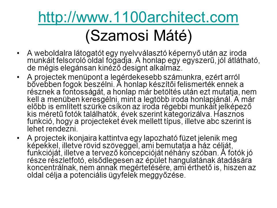 http://www.1100architect.com (Szamosi Máté)