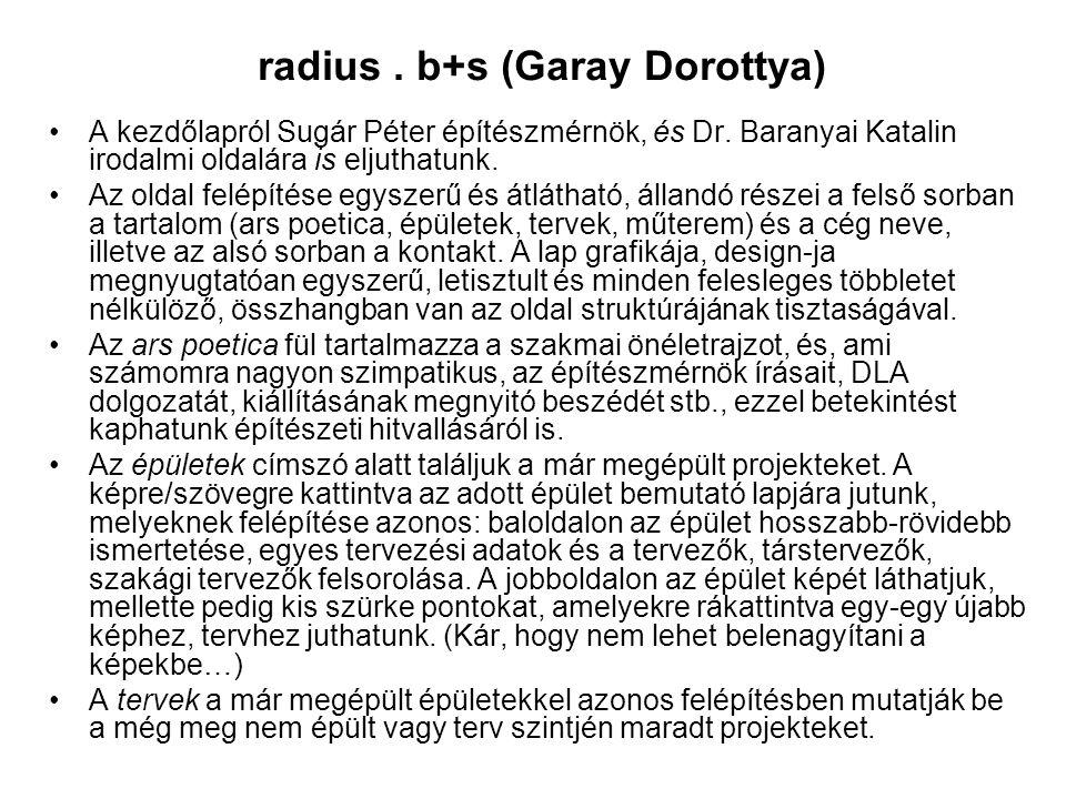 radius . b+s (Garay Dorottya)