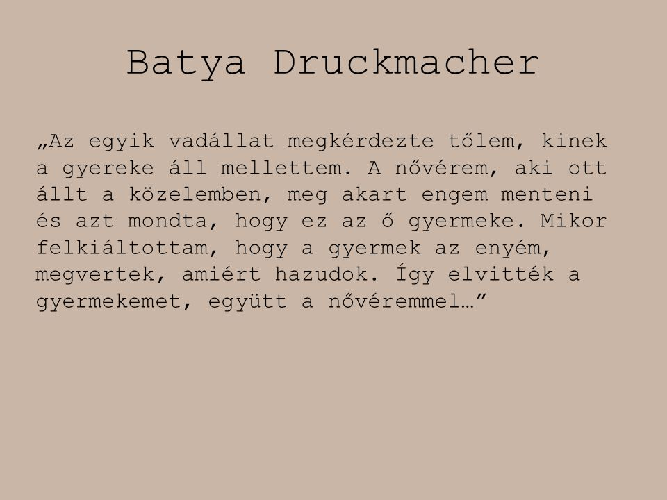 Batya Druckmacher