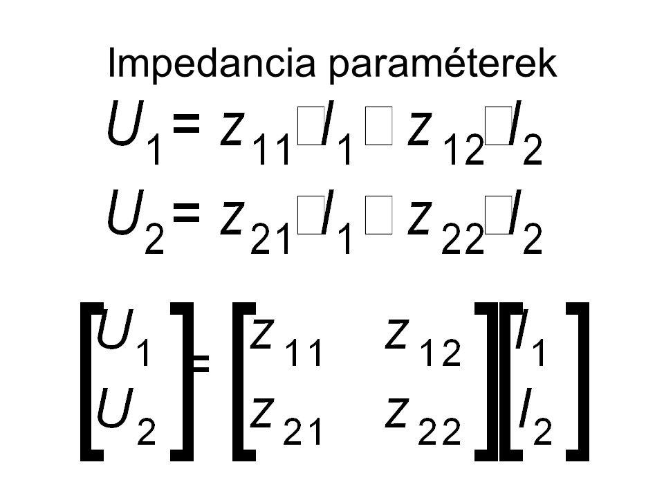 Impedancia paraméterek