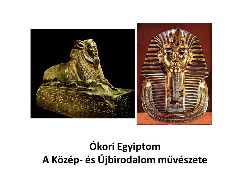 Ókori Egyiptom A Közép- és Újbirodalom művészete